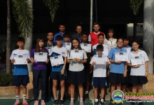 received certificate from Basketball Sport Association of Thailand