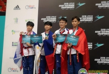 Amman Asian Taekwondo Championships competition 2019